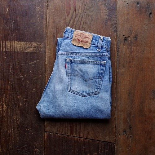 1990's Levi's 501 Denim Pants / リーバイス 501 Made in USA !!
