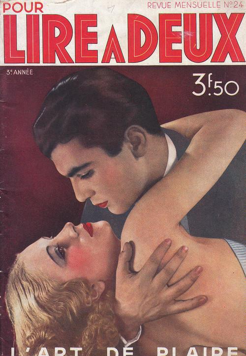 Pour Lire A Deux 1936年5月  L'art De Plaire