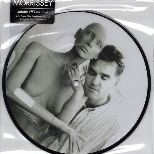 【7inch・欧州盤】Morrissey / Satellite Of Love (Live)