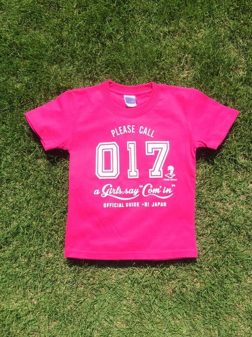 キッズTシャツ(ピンク)