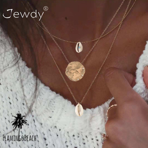 【FlamingoBeach】shell necklace ネックレス
