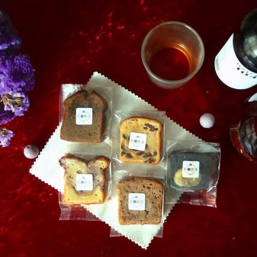 【2018年秋限定】深夜の焼き菓子セット(5個入り)<お酒を使った大人の焼き菓子/ギフト>