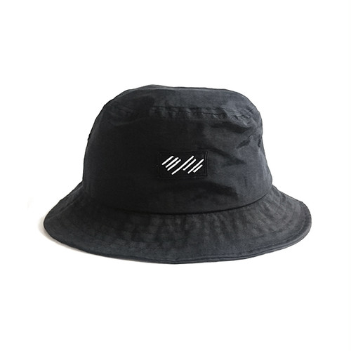 scar /////// BLOOD NYLON BUCKET HAT (Black)
