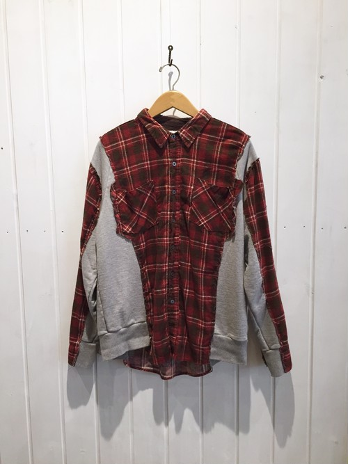 OLD PARK SW DOCKING SHIRT FLANNEL