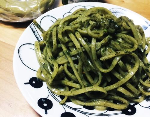 ★【季節限定】グルテンフリーもちもちバジル麺30食