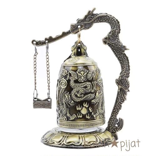 聖徳大王の神鐘 エミレの鐘 韓国鐘 ドラゴン彫刻 真鍮のレプリカ