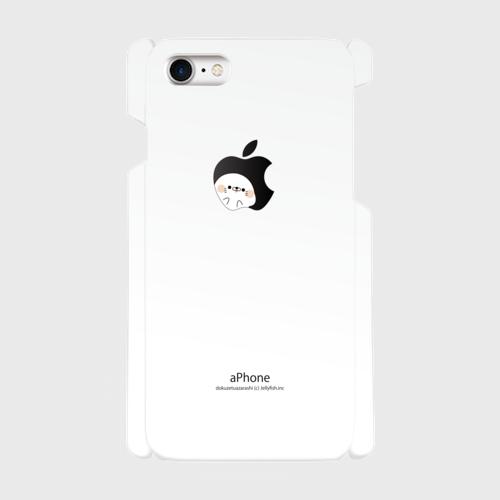 iPhoneケース/アップル風毒舌あざらし