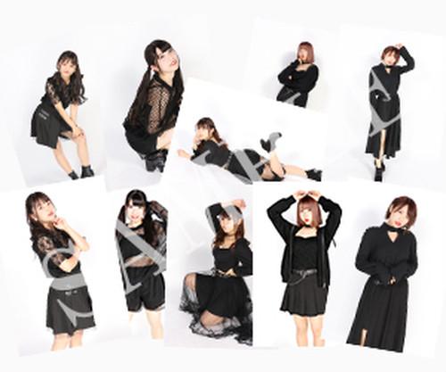 PinkySpice黒コーデ衣装ブロマイドセット