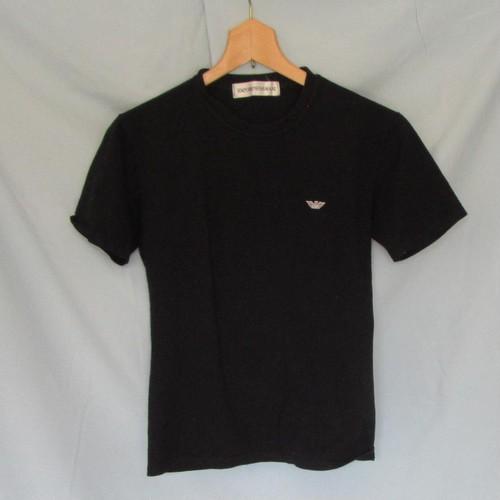 EMPORIO ARMANI Tシャツ 黒 中古 Lサイズ