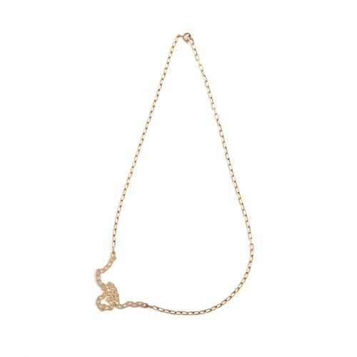 talkative/FAKE necklace Gold