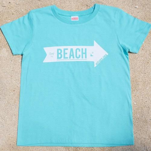MIYAKOJIMA BEACH ➡︎ Tシャツ Mint Green