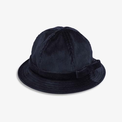 Corduroy Bell Cap(Navy)