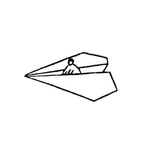 紙ヒコーキに乗る Paper Airplane