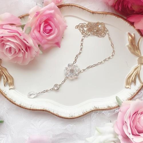 【9/20(日)21時より再販】twinkle camellia♡ネックレス