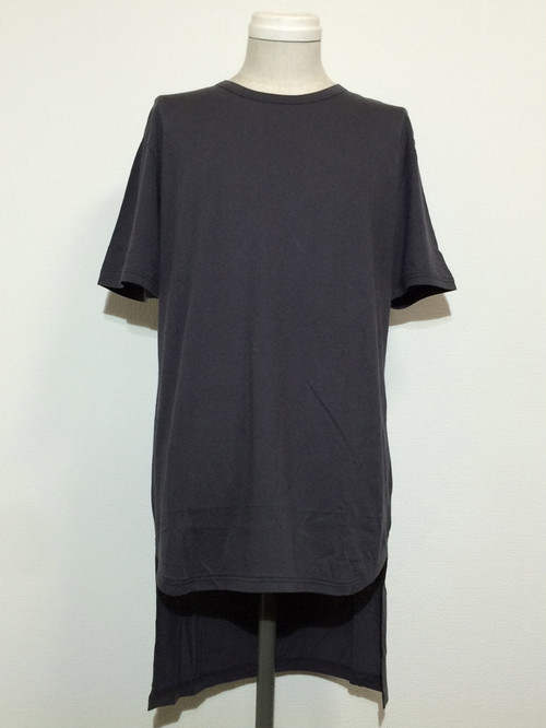 TAIL SHORT SLEEVES -CHARCOAL-