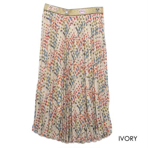 COOLA マルチワッペンドットスカート