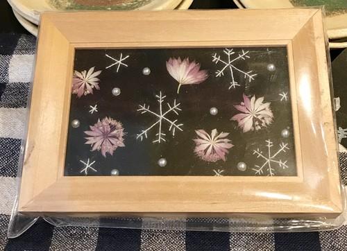 MahoTabuchi/押し花と刺繍のアート