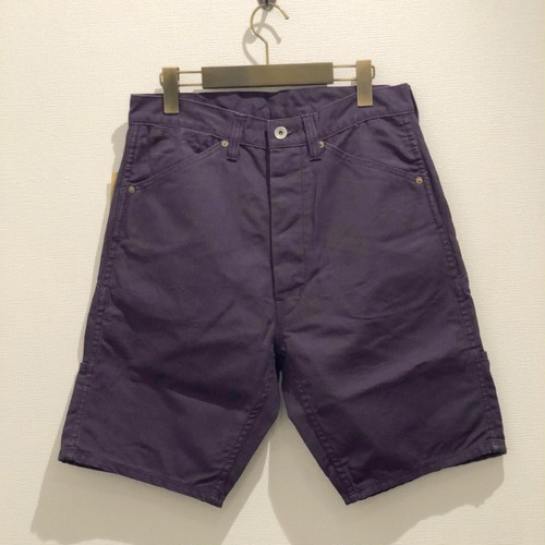 7P HALF PANTS <DUCK> (PURPLE) / GERUGA