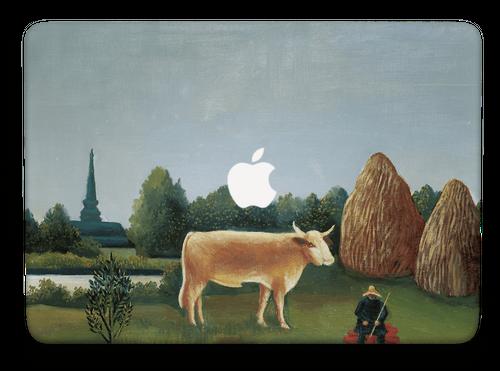 Rousseau-11-牛のいる風景