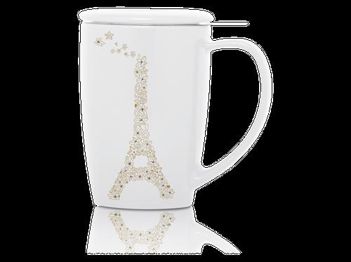 KUSMI TEA フレンチマグ ホワイト