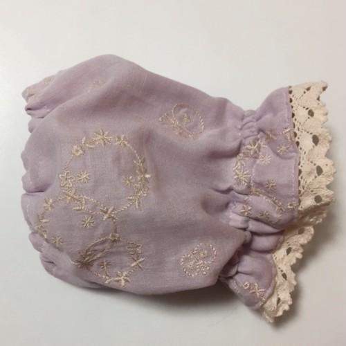 スヌード ガーリー刺繍 2サイズ