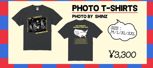 US TOUR GOODS PHOT T-SHIRTS