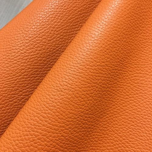 【⭐︎再入荷⭐︎】36cm×20cm カルトナージュ用イタリア製レザー(エルメス オレンジ)