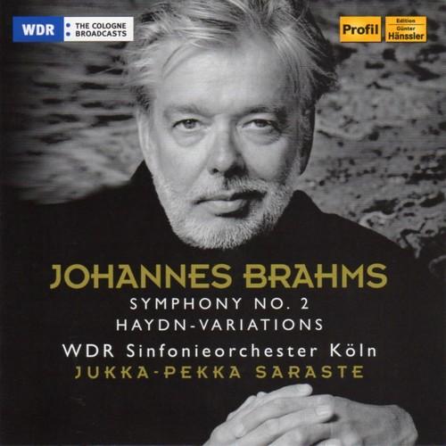 [中古CD] ブラームス:交響曲第2番/ハイドンの主題による変奏曲 サラステ/ケルンWDR交響楽団