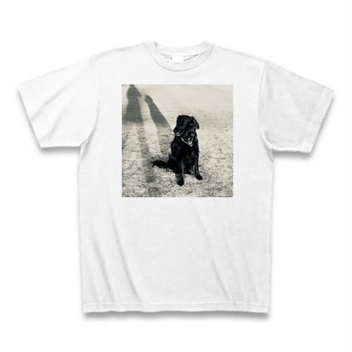 フラットコーテッドレトリバーTシャツ