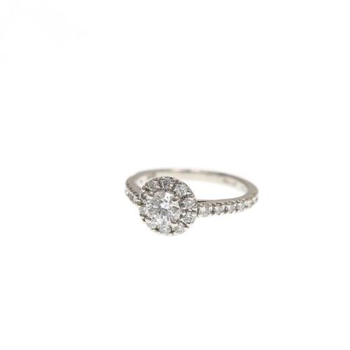 P900 ダイヤモンドリング 0.410ct・0.39ct  ●
