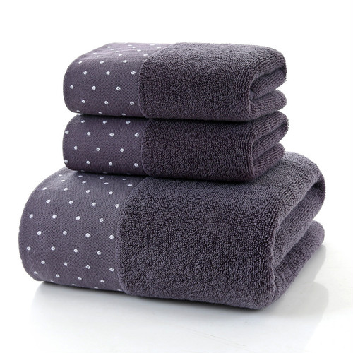 5902タオル3枚セット フェイスタオル バスタオル 厚手 大判 綿100% 吸水抜群 ホテル仕様 柔らか 肌触り 吸水速乾 ふわふわ