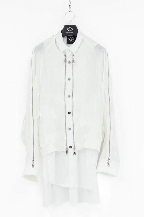 Blouson Shirts [White]