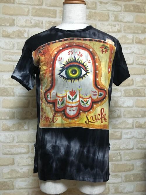 グットラックハムサTシャツ