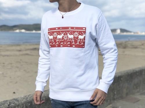 Nordic SURF スウェット(white)