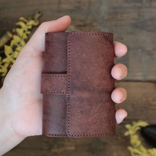 MitsuOri Wallet / D BROWN (プエブロ) *小さい財布*