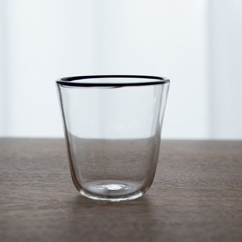 口巻グラス07(不透明黒)