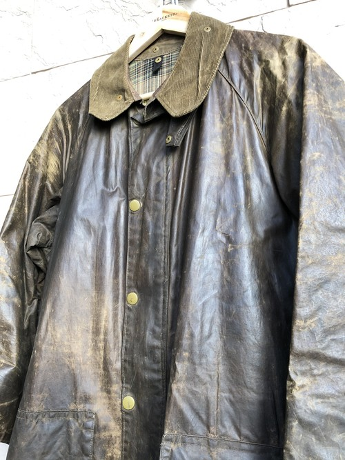 1950s-60s Barbour yellow label waxed jacket