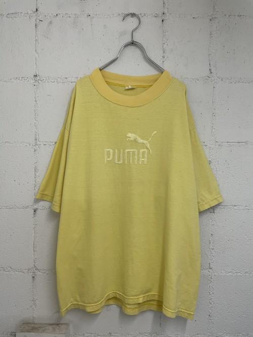 【USED】PUMA / ロゴ刺繍 tee