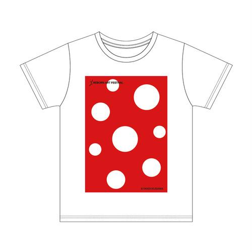 草間彌生 × RAF2019 Tシャツ