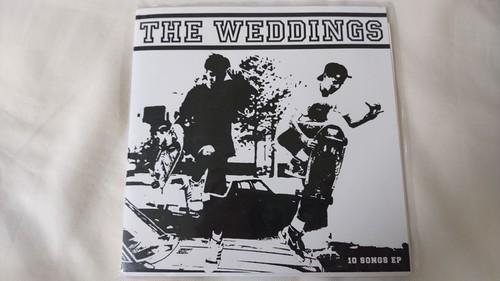 THE WEDDINGS - 10 SONGS EP(7inch)