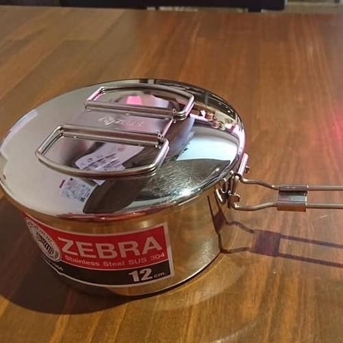 zebra ゼブラブランド フードキャリー zebra thailand stainless steel lunchbox ปิ่นโต สแตนเลส หัวม้าลาย