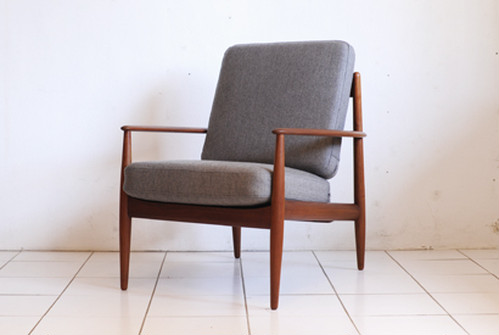 Grete Jalk Easychair Teak France&Son Around1957