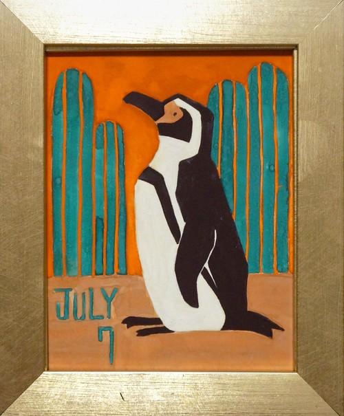 中條 亜耶「7/7 フンボルトペンギン」