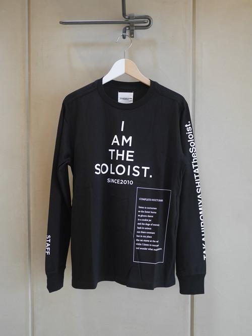TAKAHIROMIYASHITATheSoloist. / BOOTLEG? STAFF-T (long sleeve / BLACK)