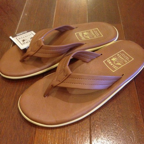 ISLAND SLIPPER / アイランドスリッパ | ISLAND PRO SANDAL PT202 - WHISKEY LEATHER
