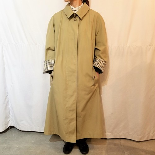 Big Silhouette single-breasted coat  [G-427]