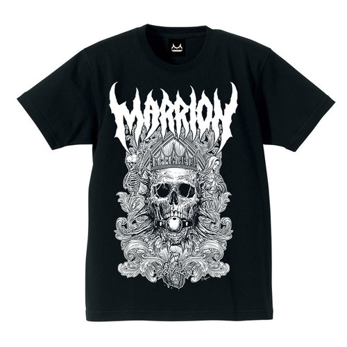 DEATH MARRION Front Print  Tシャツ