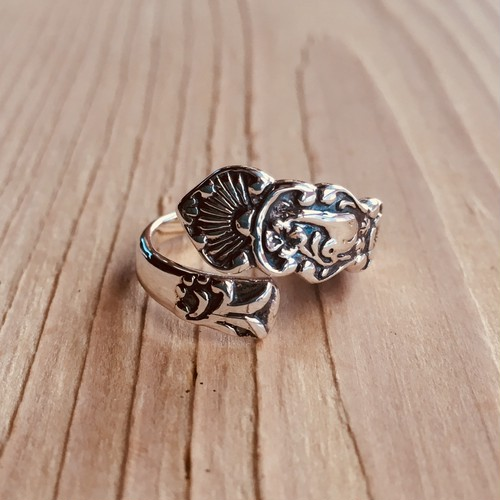Spoon ring   Silver