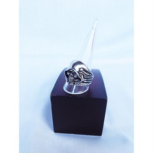 死神 スカル ドクロ ガイコツ 指輪 リング 20号 21号 ヒップホップ シルバー 銀 SILVER HIPHOP 1458