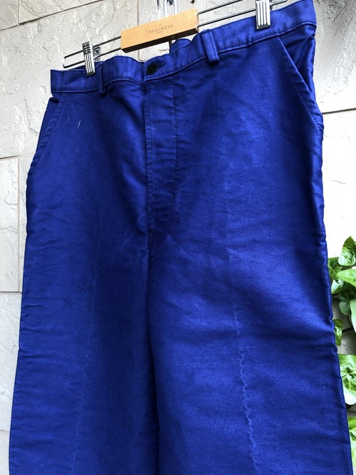 Old French Blue moleskin trousers